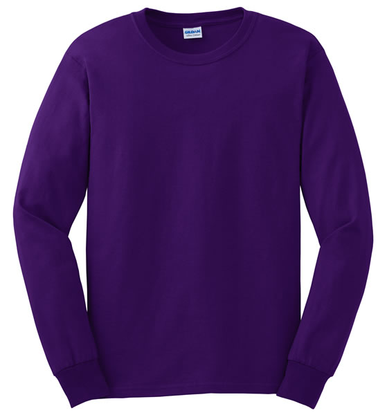 02f976487c1b38 Dark Purple Long Sleeve Shirt - South Park T Shirts